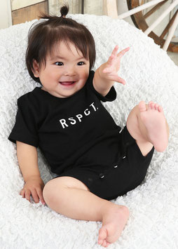 Baby Logo Rompers[Black]