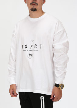 Over Size AGC Long Tee [WHITE]