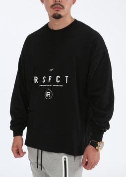 Over Size AGC Long Tee [BLACK]