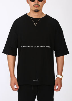 OMW Over Size Tee [Black]