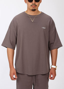 FRM Over Size Tee [Brown Gray]