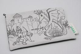 Trousse à colorier dragon