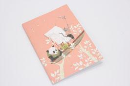 "Carnet de notes ""Panda"""