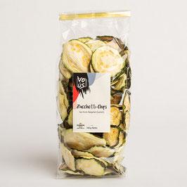Zucchetti-Chips mit oder ohne Chili