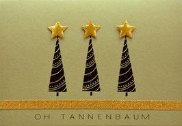 Weihnachtskarte Oh Tannenbaum (Nr. 2)