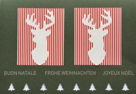 Weihnachtskarte Frohe Weihnachten (Nr. 3)