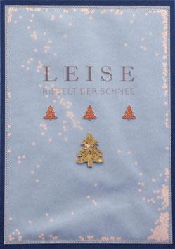 Weihnachtskarte Leise rieselt der Schnee (Nr. 5)
