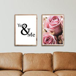 Rosen You & Me - 2er Set