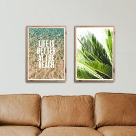 Beach Life - 2er Poster Set