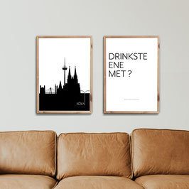 I love Cologne - 2er Poster Set