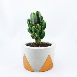 "Topf ""Triangle"" small - kupfern"