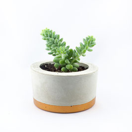 "Topf ""Oblong"" medium - kupfern"