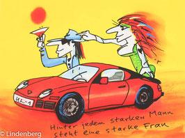 Udo Lindenberg - Hinter jedem starken Mann steht eine starke Frau - Porsche
