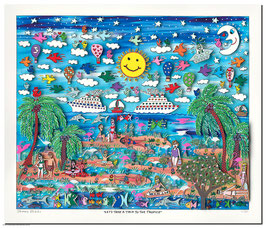 James Rizzi - Lets take a trip to the tropics