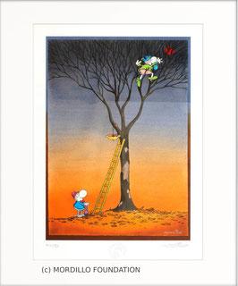 Mordillo - Heart in the tree