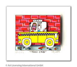 James Rizzi - Taxi Cab