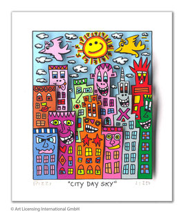James Rizzi - City Day Sky