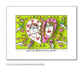 James Rizzi - Don't Go Breaking My Heart