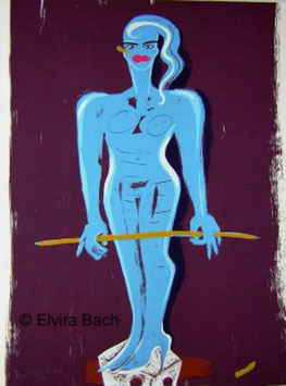 Elvira Bach - (Aus der Mappe Kinderstern)