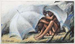 Peter Wever - Schirme im Gras