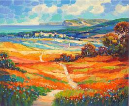 Jean Claude Picard - Herbstliches Feld (225)
