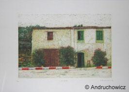 Dietlinde Andruchowicz - Italienisches Gehöft