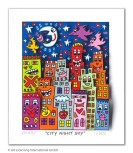 James Rizzi - City Night Sky