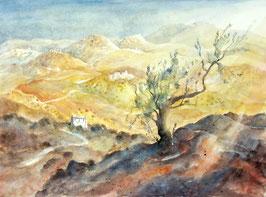 Ulrich Hartig - Sizilianische Landschaft