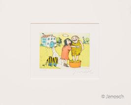 Janosch - Ich liebe sie sprach Frau Luise zu mir auf der grünen Wiese