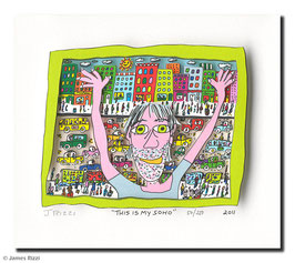 James Rizzi - This is my Soho