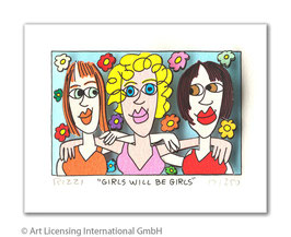 James Rizzi - Girls Will Be Girls