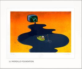 Mordillo - Fisherman on ink