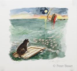 Peter Bauer - Floß