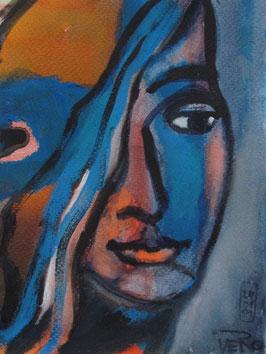 Veronika Emendörfer - Blaue Muse
