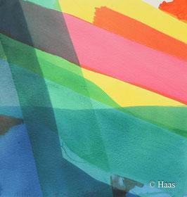 Willibrord Haas - Aquarell - ohne Titel