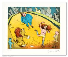 Janosch - Der Löwe brüllt es tanzt Marie