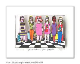 James Rizzi - SHOP UNTIL YOU DROP
