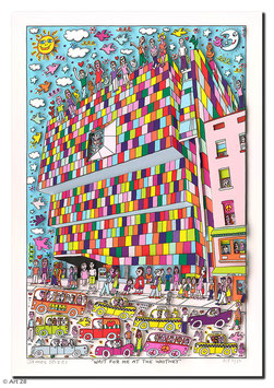 James Rizzi - Wait for me at the Whitney