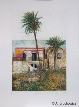 Dietlinde Andruchowicz - Zwei Palmen