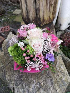 Florale Torte