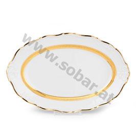 Maria Louise Goldrand Platte oval