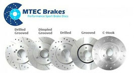 MTEC Brakes Honda Integra DC5 Type R , Bremsscheiben Set
