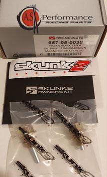 SKUNK2 MAGNETIC DRAIN PLUG SET  / 657-05-0030