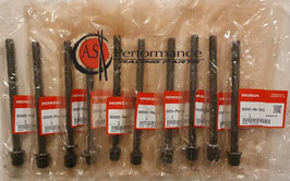 GENUINE HONDA HEAD BOLTS STUDS / Kopfschrauben Set 10 Stk. /  K20A K20Z K24  / 90005-PNA-003
