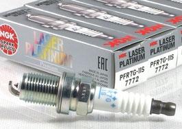 NGK Laser Platinum  Zündkerzen (4er Set) Honda S2000 99-09 , PFR7G-11S , 7772