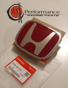 Genuine Honda Emblem vorne groß/ Front Red H Badge / Civic  EP 04-05 / 75700-S5T-E11