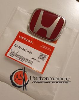 Genuine Honda Rear Red  Badge / Honda Emblem hinten / Honda Civic Type R Ep3 01 - 06 / 75701-S5T-E01