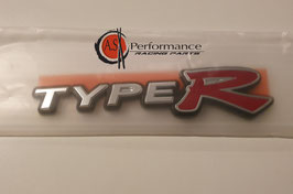 Genuine Honda INTEGRA Type R DC5 Rear Emblem ( Type R ) 75717-S6M-Z01