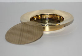 ERSATZLOCHSIEB Messing 110 mm NEU