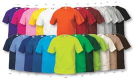 Top-Angebote T-Shirt 145g mit einem 1 Farbig Druck